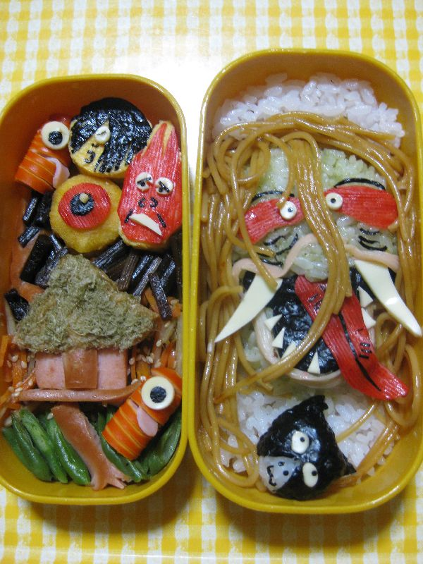 overly artistic japanese bento boxes (6)
