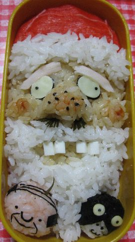 overly artistic japanese bento boxes (7)