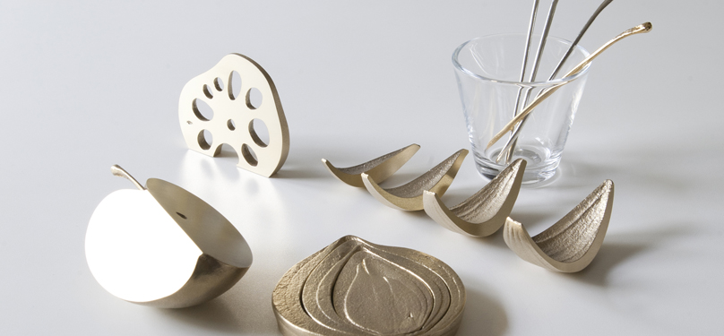 Brass Kitchen Tools Inspired by Ordinary Household Foods