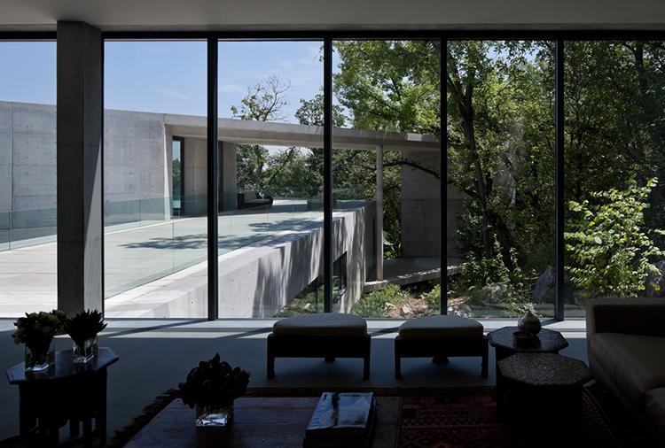House In Monterrey Tadao Ando Brings Japanese Concrete