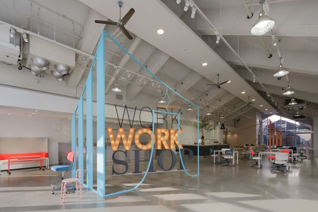 WORK WORK SHOP | a new experimental workplace in Tokyo
