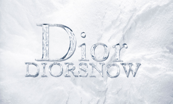 Dior-Ice-Letters