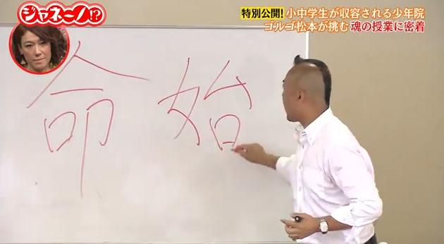 Golugo matsumoto kanji lesson