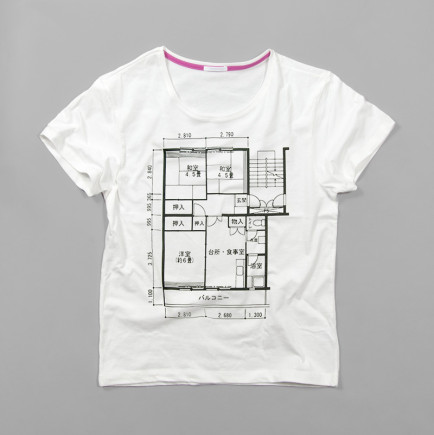 Show Your Love For House Hunting in Japan With These Floor Plan T-shirts