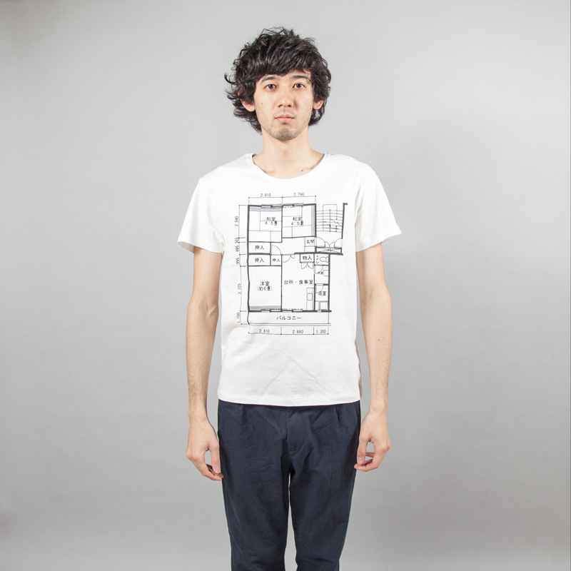 japanese-floorplan-tshirts 2