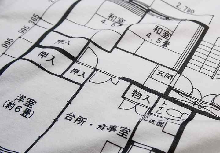 japanese-floorplan-tshirts 4