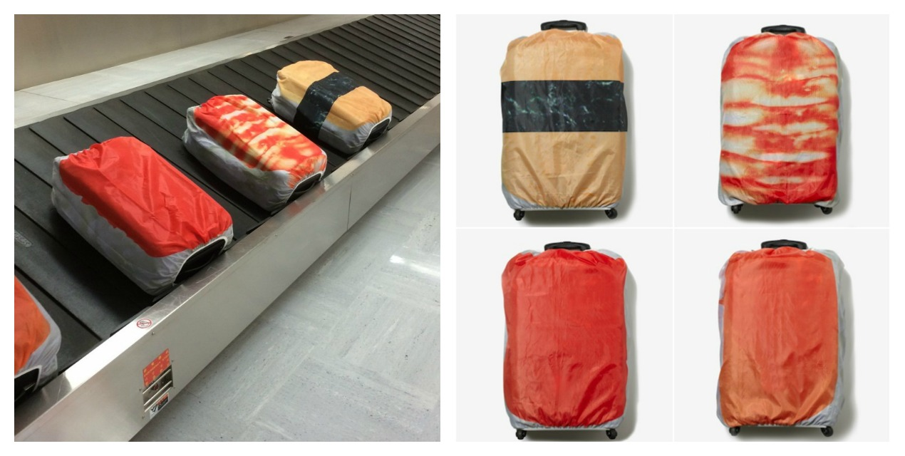 The Sushi Suitcase Cover Will Turn Airport Baggage Claim Areas Into Conveyor Belt Sushi Shops