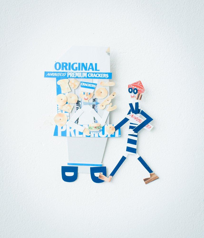 Takako Handa cardboard characters