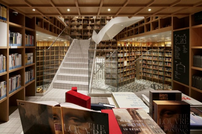A Travel Library Designed to Inspire Wanderlust