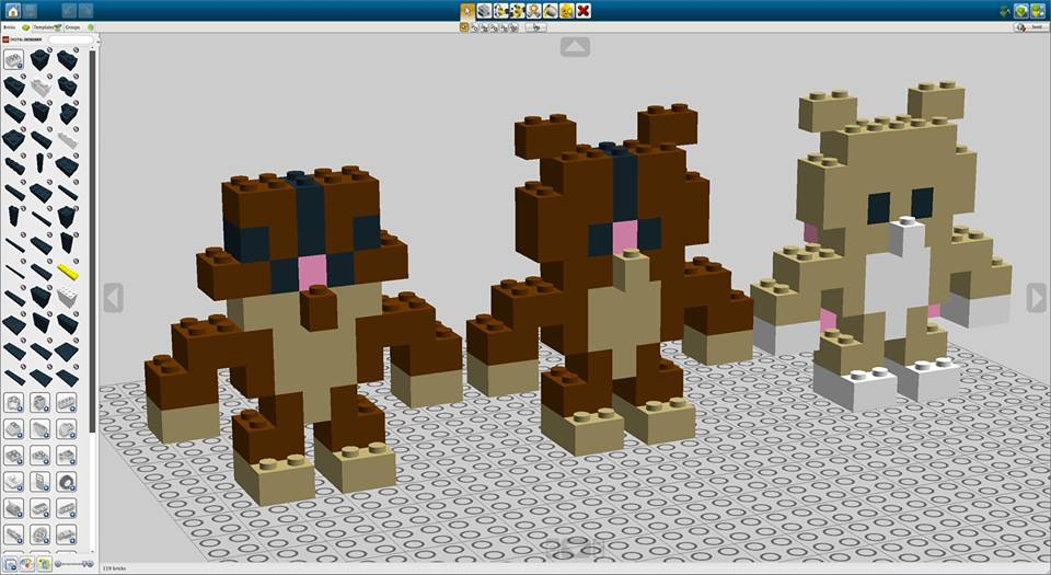 Akihiro Mizuuchi chocolate LEGO bear