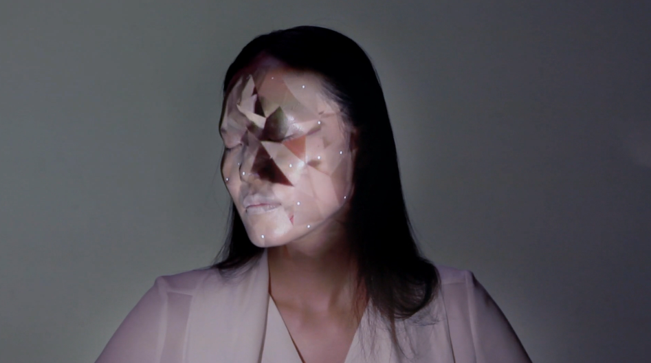 nobumichi asai facetracking & projection mapping OMOTE