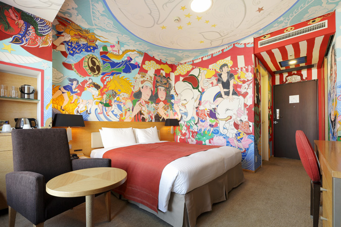 Stay in Artist Designed Hotel Rooms at the Park Hotel Tokyo Spoon