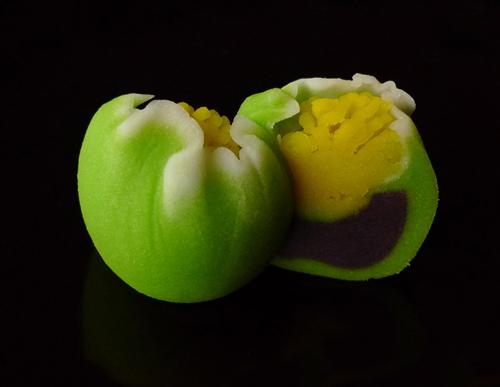 Hajime Nakamura wagashi sweets and flower bud