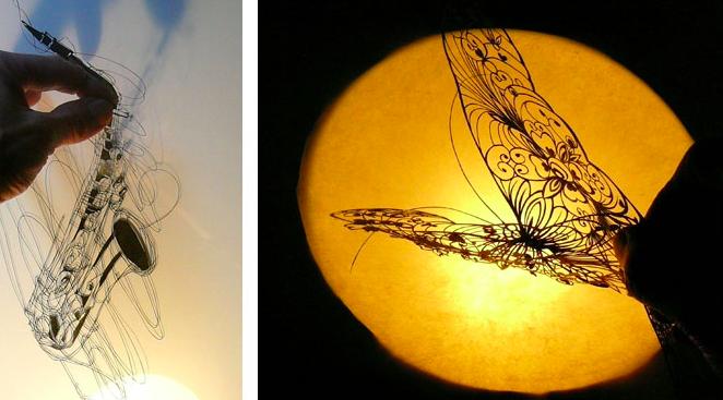 Kirie Artist Akira Nagaya