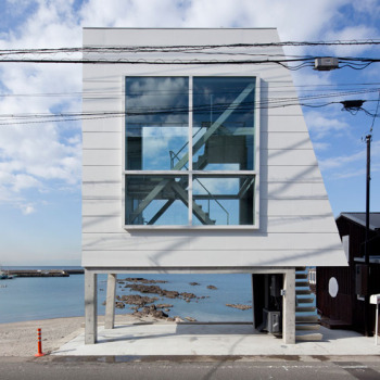 A Tiny House by The Sea by Yasutaka Yoshimura