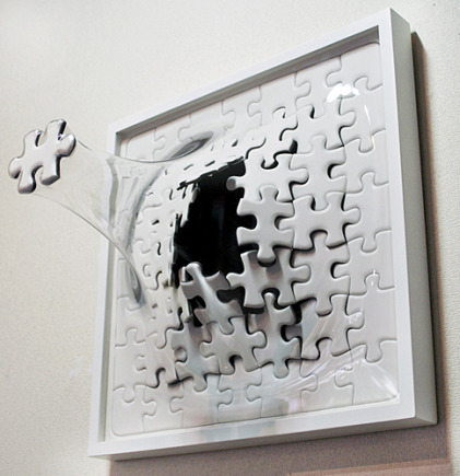 Artwork Bulges Out of the Canvas in Yuki Matsueda's 3D Sculptures