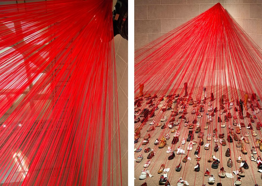Over the Continents: Chiharu Shiota