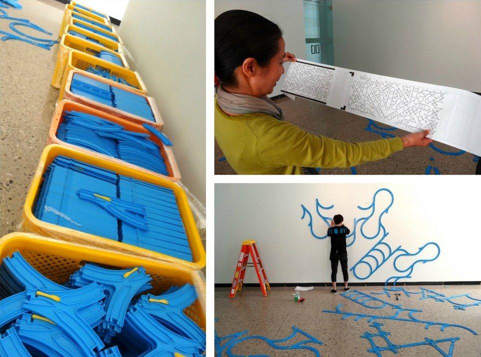 paramodel paramodelic graffiti at UMMA  work in progress