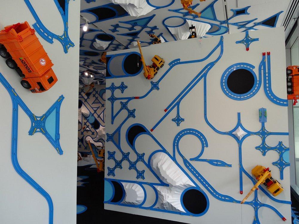 paramodel paramodelic graffiti at UMMA