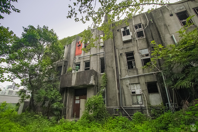 seika dormitory photographs
