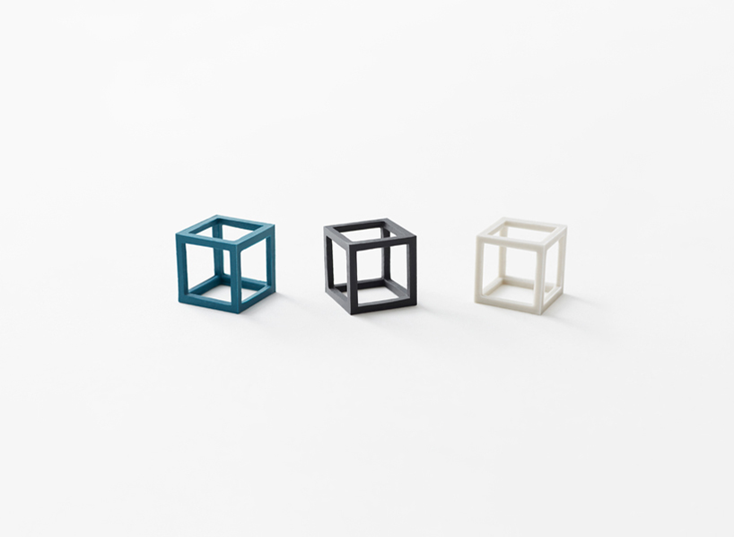 nendo cubic rubber band