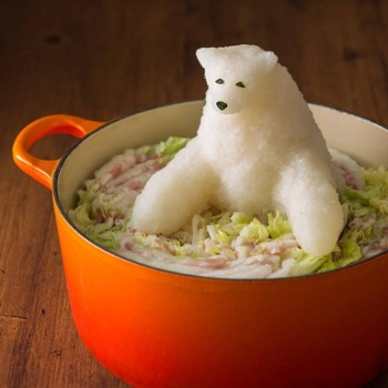 This Winter Keep Warm With Grated Daikon Radish Sculptures in Your Nabe