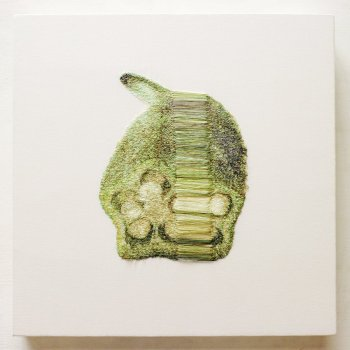 Warped Embroidered Fruits and Vegetables by Sayaka Miyata