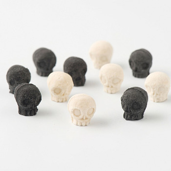 Boo! Skull Shaped Japanese Sugar Designed by Nobumasa Takahashi