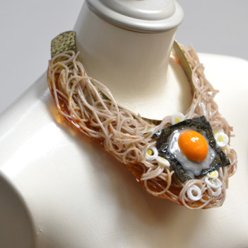Bacon Belts, Curry Necklaces and Other Realistic Food Sample Jewelry
