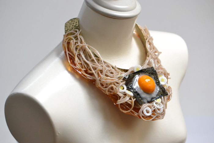 hatanaka food sample jewelry