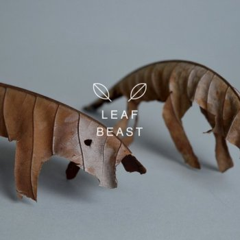 Baku Maeda Turns Dried Foliage into Leaf Beasts