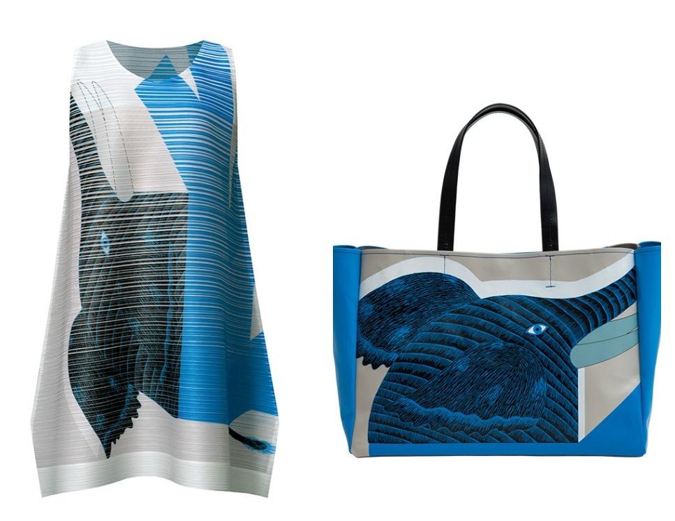 Fashion And Graphic Design Collide In A Collaboration