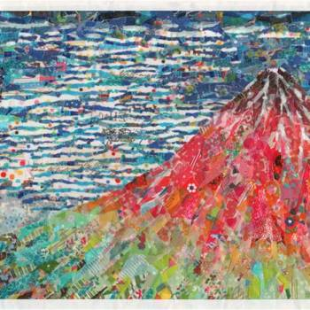 Nasa Funahara Creates Colorful Replicas of Famous Paintings Using Masking Tape