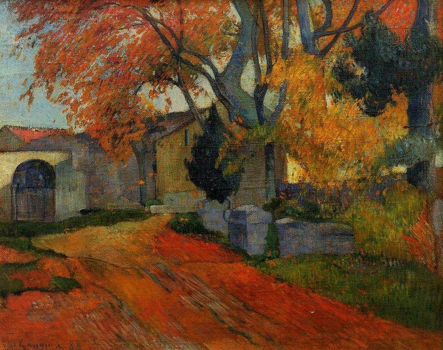 1024px-Lane_at_Alchamps,_Arles_1888_Paul_Gauguin