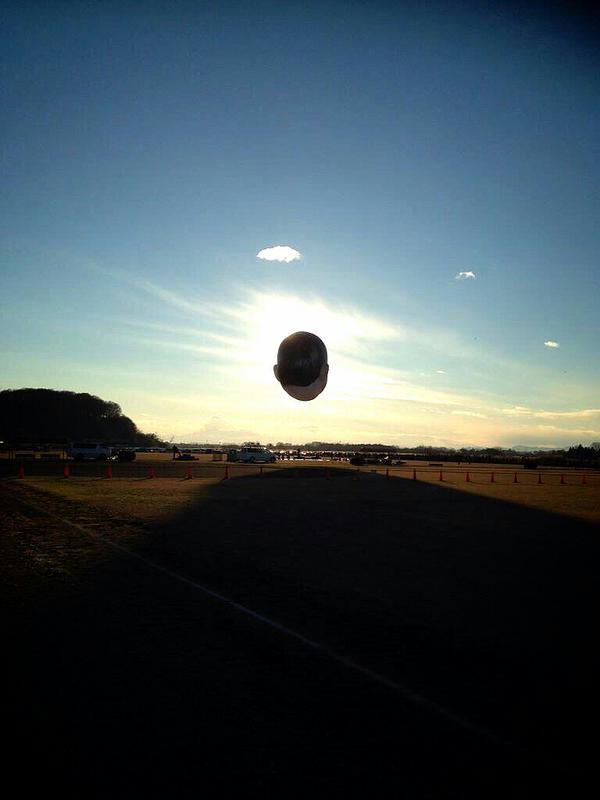 ojisora ojisan balloon project