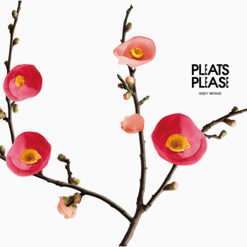 Pleats Designed to Look Like Flowers in Issey Miyake Campaign