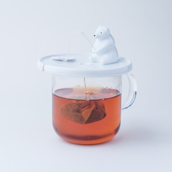 Shirokuma Tea Bag Holder Makes Steeping Tea More Fun