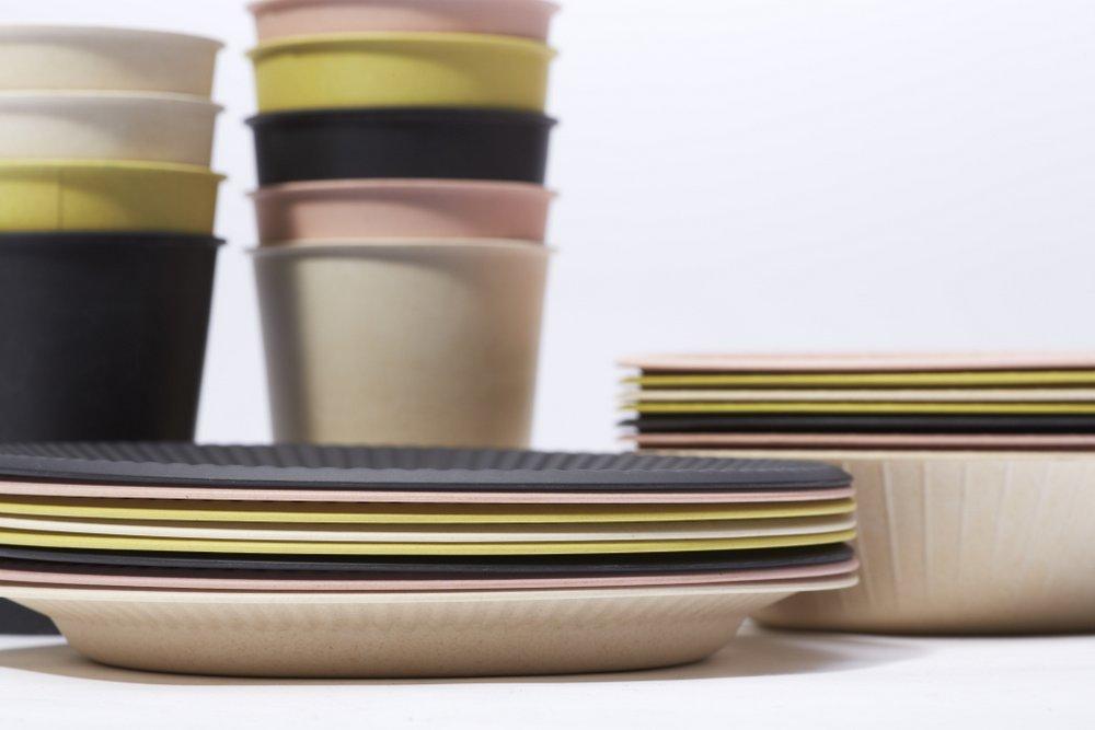 tm series bamboo tableware & Reusable Bamboo Tableware That Looks Like Disposable Paper | Spoon ...
