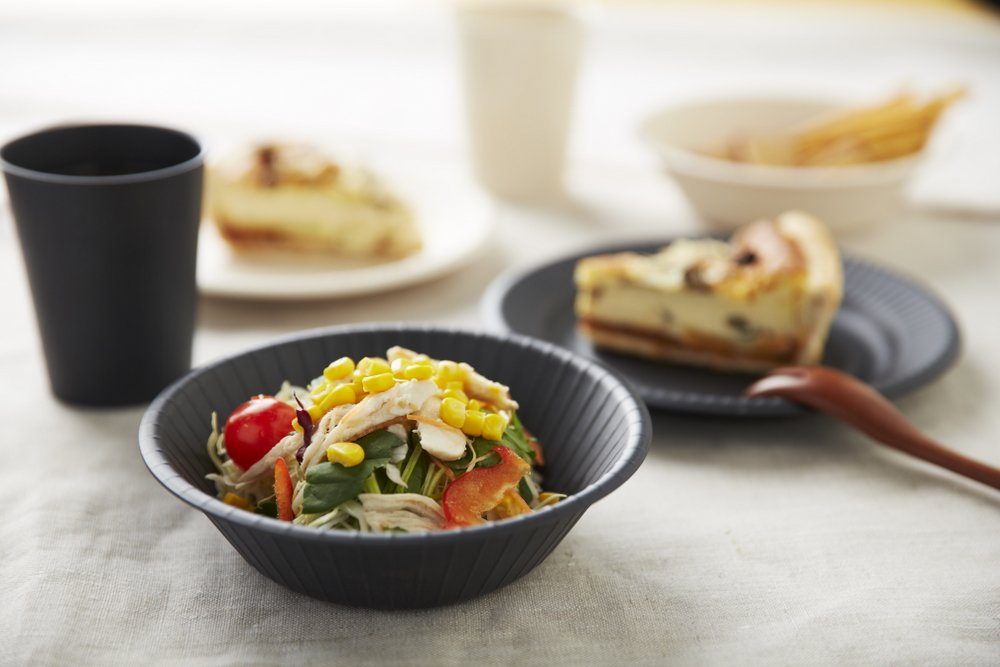 tm series bamboo tableware