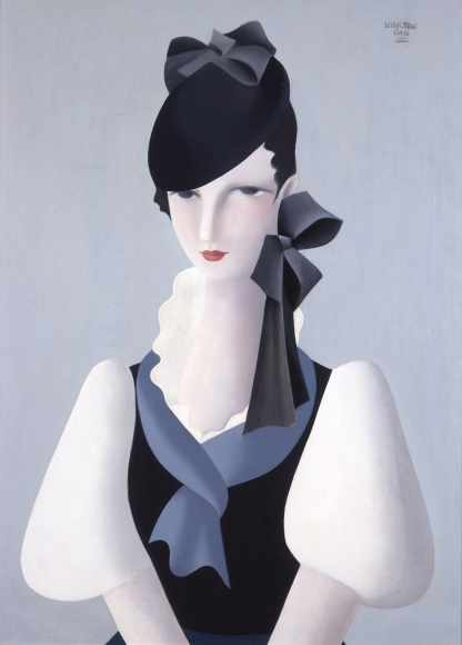 togo-seiji-Portrait of a Woman