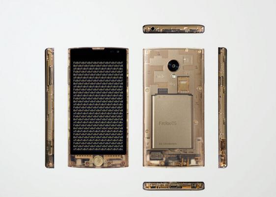 Tokujin yoshioka firefox smartphone fx0