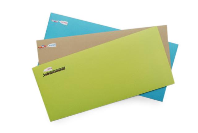 Booooon Tearable Vehicle Envelopes