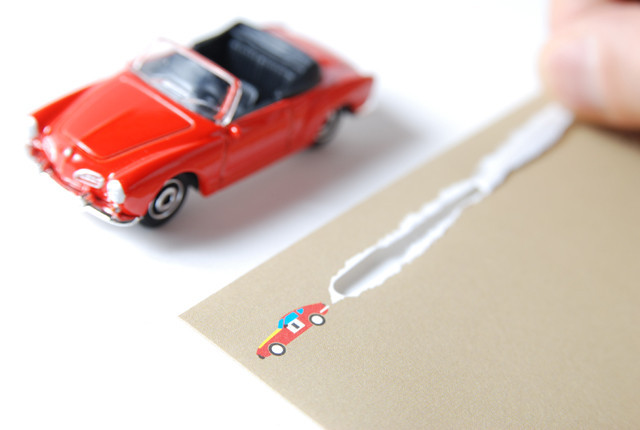 Booooon Tearable Vehicle Envelopes