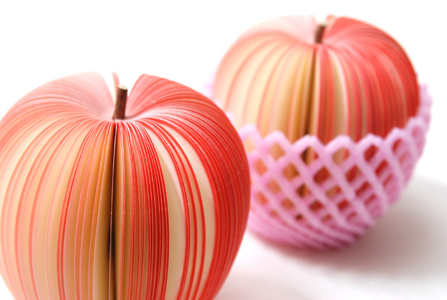 kudamemo fruit note pad