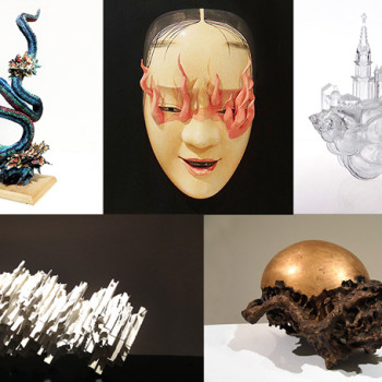 Five Sculptors: an exhibition surveying contemporary Japanese sculpture