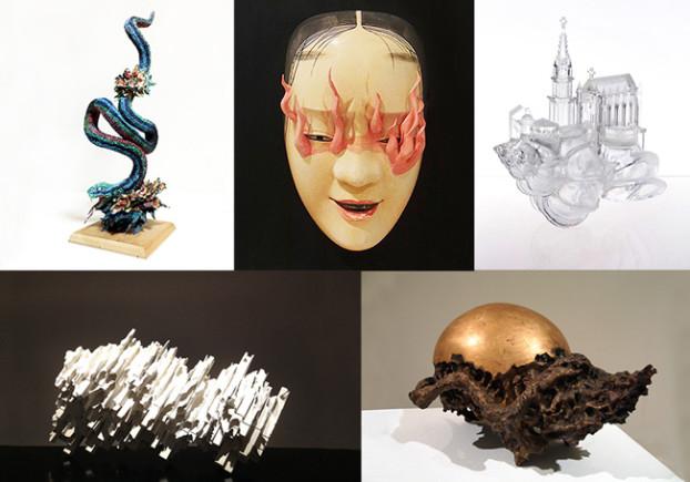 five sculptors exhibition at hpgrp
