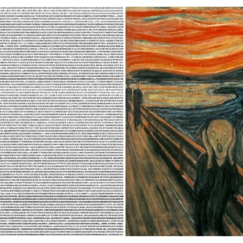 Famous Paintings Rendered as Data by Yousuke Ozawa