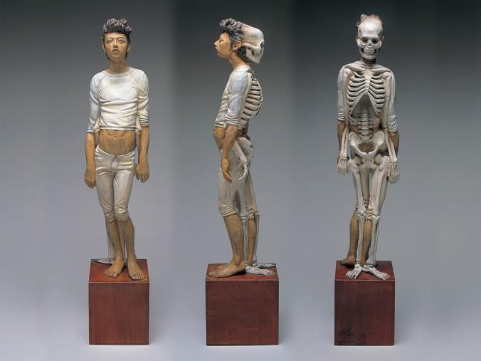Yoshitoshi Kanemaki sculptures