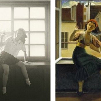 The French Paintings of Balthus As Seen Through The Japanese Lens of Hisaji Hara