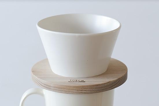 mountain coffee dripper